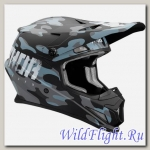 Шлем THOR SECTOR COVERT OFFROAD MATTE MIDNIGHT