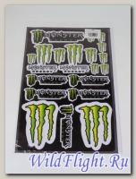 Наклейки набор D6031 Monster #1