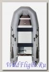 Лодка НАШИ ЛОДКИ СкайРа 335 AL классика aluminium 2014