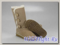 UGG WOMENS BAILEY BUTTON TRIPLET sand 1873