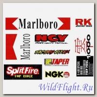 Наклейки набор (20х30) Marlboro, RK