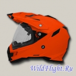 Шлем AFX FX-41DS ADVENTURE SAFETY ORANGE