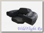 Кофр задний L7500, 75 литров, КРУТОЙ, сиденье пассажира, 2 подлокотника, большая емкость