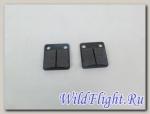 Колодки тормозные дисковые KAYO зад DIO 35 QT-10 WGZ064 (HF102) TACT (41x41x7)