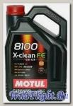 Мотор/масло MOTUL 8100 X-Clean FE 5W30 (5л) (MOTUL)