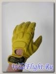 Перчатки Кожаные Dainese Blackjack Yellow r
