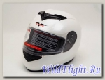 Шлем Vcan 121 интеграл pearl white