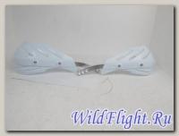 Защита рук (пара) HP15 белые армированные SM-PARTS