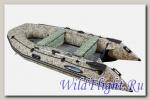 Лодка Gladiator Air E420 CAMO