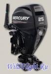 Водометный четырехтактный подвесной лодочный мотор Mercury Jet F25 MLH GA EF
