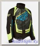 Куртка зимняя ATV/снегоход FLY RACING SNX PRO чёрная/желтая (2015)