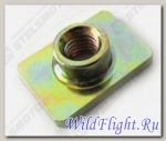 Гайка воздушного фильтра, закладная М6x1.0мм, сталь LU034980