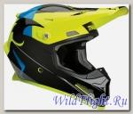 Шлем THOR YOUTH SECTOR SHEAR BLACK/ACID