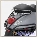 Черная защита задней стороны Vespa Primavera/Sprint/Elettrica