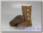 UGG WOMENS BAILEY BUTTON TRIPLET chestnut 1873