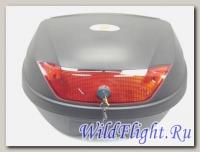 Кофр YM-0888 Black красный отражатель