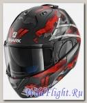 Шлем SHARK Evo-One 2 Sculd black red