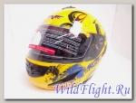 Шлем Vcan 200 модуляр yellow / lbc