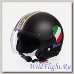 Шлем Vespa V-STRIPES BLACK
