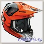 Шлем THOR VERGE VORTECHS S7 OFFROAD ORANGE/GRAY