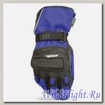 Перчатки зимние ATV/снегоход FLY RACING XPLORE синие/черные