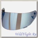 Визор Dark mirror blue universal