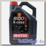 Мотор/масло MOTUL 8100 X-cess 5W-40 (5л) (MOTUL)