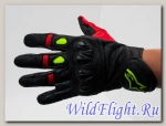 Перчатки Alpine Stars Gloves 10 Black/Red/Neon