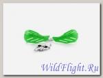 Защита рук (пара) HP15 зелёные армированные SM-PARTS