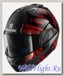 Шлем SHARK Evo-One 2 Lithion dual black red
