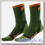 Носки женские THOR DUAL SPORT GREEN/ORANGE SOCK