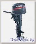 Двухтактный подвесной лодочный мотор Yamaha 30HMHL с предварительным смешиванием