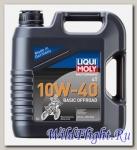 Моторное масло (минеральное) для мотоциклов Motorbike 4T Basic Offroad 10W-40 (4л) LIQUI MOLY (LIQUI MOLY)