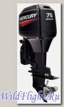 Двухтактный подвесной лодочный мотор Mercury 75 ELPTO