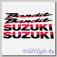 Наклейки набор (6х30) Suzuki Bandit