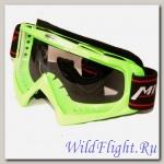 Очки кроссовые MICHIRU G970 Green