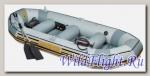 Лодка Intex Mariner-4 Set (68376)