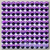 Наклейки набор (10х40) Стразы 4мм purple