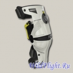 Защита колена Mobius WHITE/ACID YELLOW X8 KNEE BRACE