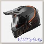 Шлем LS2 MX436 PIONEER ELEMENT Matt Black Titanium