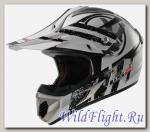Шлем LS2 MX433 STRIPE White Black