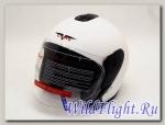 Шлем Vcan Max 617 открытый matt white