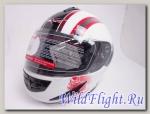 Шлем Vcan 200 модуляр white / lbd