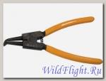 Съемник для внешних стопорных колец изогнутые губки 150мм SPARTA (разжим)