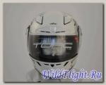 Шлем интеграл ТORC T-19 WHITE ANIME (ФИБЕРГЛАСС/НЕЙЛОН (прочност/ЛЕГКИЙ) белый с рисунком