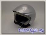 Шлем Vcan 522 открытый с козырьком silver