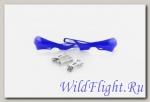 Защита рук (пара) HP03 синие армированные SM-PARTS