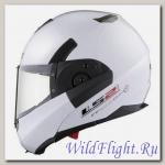 Шлем LS2 FF393 CONVERT Gloss White