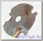 Пластина фигурная центробежного регулятора, сталь LU015703