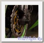 Слайдеры Crazy Iron в ось переднего колеса для Kawasaki ZX-6R ОТ 13 -15